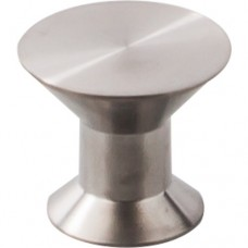 """Stainless Cabinet Knob (1-3/16"""") - Brushed Stainless Steel (SS44) by Top Knobs"""