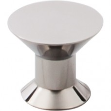 """Stainless Cabinet Knob (1-3/16"""") - Polished Stainless Steel (SS45) by Top Knobs"""