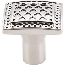 "Trevi Cabinet Knob (1-1/4"") - Polished Nickel (TK174PN) by Top Knobs"