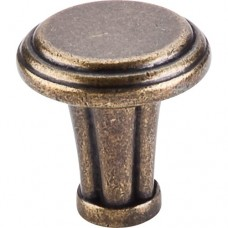 "Large Luxor Cabinet Knob (1-1/4"") - German Bronze (TK196GBZ) by Top Knobs"
