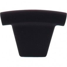 "Arched Cabinet Knob (1-1/2"") - Flat Black (TK1BLK) by Top Knobs"