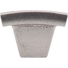 """Arched Cabinet Knob (1-1/2"""") - Pewter Antique (TK1PTA) by Top Knobs"""