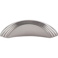 "Sydney Flair Drawer Pull (2"" cc) - Brushed Satin Nickel (TK212BSN) by Top Knobs"