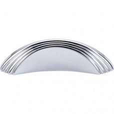"Sydney Flair Drawer Pull (2"" cc) - Polished Chrome (TK212PC) by Top Knobs"