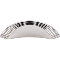 "Sydney Flair Drawer Pull (2"" cc) - Polished Nickel (TK212PN) by Top Knobs"