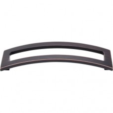 "Euro Arched Drawer Pull (5"" cc) - Tuscan Bronze (TK247TB) by Top Knobs"