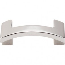 "Euro Arched Cabinet Knob (2-1/8"") - Polished Nickel (TK248PN) by Top Knobs"