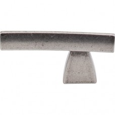 """Arched Cabinet Knob (2-1/2"""") - Pewter Antique (TK2PTA) by Top Knobs"""