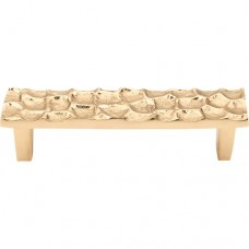 "Cobblestone Drawer Pull (3-3/4"" CTC) - Brass (TK304BR) by Top Knobs"
