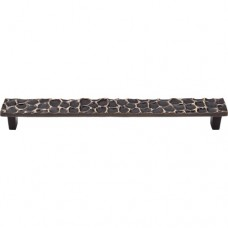 "Cobblestone Drawer Pull (8-13/16"" CTC) - Brass Antique (TK308BA) by Top Knobs"
