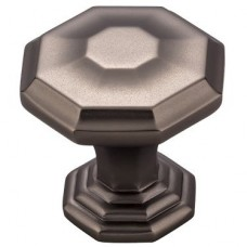 "Chalet Cabinet Knob (1-1/8"") - Ash Gray (TK340AG) by Top Knobs"