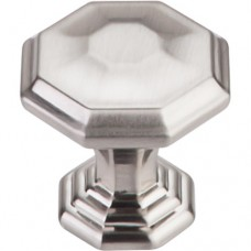 "Chalet Cabinet Knob (1-1/8"") - Brushed Satin Nickel (TK340BSN) by Top Knobs"