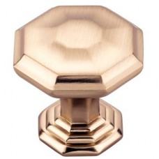 "Chalet Cabinet Knob (1-1/8"") - Honey Bronze (TK340HB) by Top Knobs"