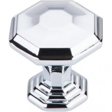 "Chalet Cabinet Knob (1-1/8"") - Polished Chrome (TK340PC) by Top Knobs"