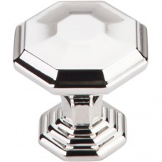 "Chalet Cabinet Knob (1-1/8"") - Polished Nickel (TK340PN) by Top Knobs"