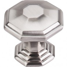 "Chalet Cabinet Knob (1-1/2"") - Brushed Satin Nickel (TK348BSN) by Top Knobs"