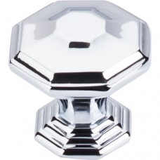 "Chalet Cabinet Knob (1-1/2"") - Polished Chrome (TK348PC) by Top Knobs"