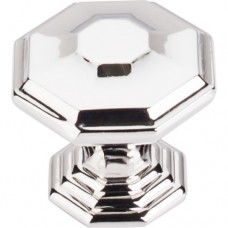 "Chalet Cabinet Knob (1-1/2"") - Polished Nickel (TK348PN) by Top Knobs"