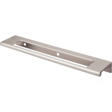 "Europa Cut Out Tab Drawer Pull (-"" cc) - Brushed Satin Nickel (TK522BSN) by Top Knobs"