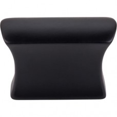 "Glacier Cabinet Knob (1-1/2"") - Flat Black (TK551BLK) by Top Knobs"