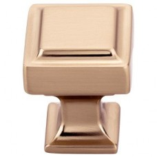 "Ascendra Cabinet Knob (1"") - Honey Bronze (TK700HB) by Top Knobs"