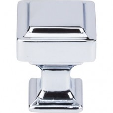 "Ascendra Cabinet Knob (1"") - Polished Chrome (TK700PC) by Top Knobs"