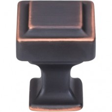 "Ascendra Cabinet Knob (1"") - Umbrio (TK700UM) by Top Knobs"