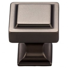 """Ascendra Cabinet Knob (1-1/8"""") - Ash Gray (TK701AG) by Top Knobs"""