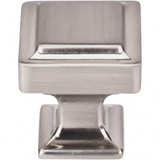 """Ascendra Cabinet Knob (1-1/8"""") - Brushed Satin Nickel (TK701BSN) by Top Knobs"""