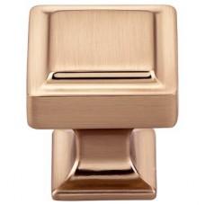 "Ascendra Cabinet Knob (1-1/8"") - Honey Bronze (TK701HB) by Top Knobs"