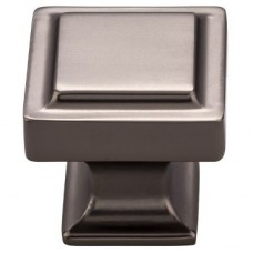 """Ascendra Cabinet Knob (1-1/4"""") - Ash Gray (TK702AG) by Top Knobs"""
