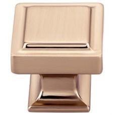 "Ascendra Cabinet Knob (1-1/4"") - Honey Bronze (TK702HB) by Top Knobs"