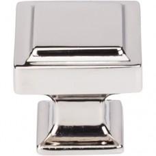 "Ascendra Cabinet Knob (1-1/4"") - Polished Nickel (TK702PN) by Top Knobs"