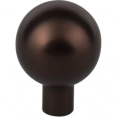 """Brookline Cabinet Knob (1-1/8"""") - Oil Rubbed Bronze (TK762ORB) by Top Knobs"""
