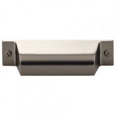 "Channing Cup Bin Pull (2-3/4"" cc) - Ash Gray (TK772AG) by Top Knobs"