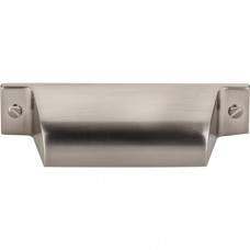 "Channing Cup Bin Pull (2-3/4"" cc) - Brushed Satin Nickel (TK772BSN) by Top Knobs"