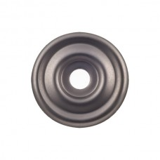 """Brixton Knob Backplate (1-3/8"""") - Ash Gray (TK890AG) by Top Knobs"""