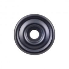 "Brixton Knob Backplate (1-3/8"") - Flat Black (TK890BLK) by Top Knobs"