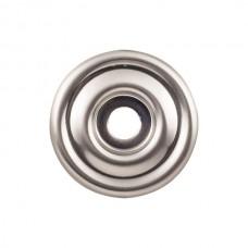 "Brixton Knob Backplate (1-3/8"") - Brushed Satin Nickel (TK890BSN) by Top Knobs"