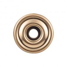 "Brixton Knob Backplate (1-3/8"") - Honey Bronze (TK890HB) by Top Knobs"