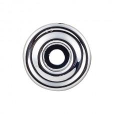 "Brixton Knob Backplate (1-3/8"") - Polished Chrome (TK890PC) by Top Knobs"