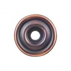 "Brixton Knob Backplate (1-3/8"") - Umbrio (TK890UM) by Top Knobs"