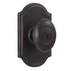 Durham Keyed Knob Door Set w/ Premiere Rosette (7140) by Weslock