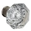 Crystal Knob for the Contemporary Collection by Baldwin Reserve