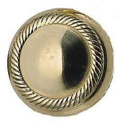 Charleston Knob by Brass Accents