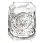 Andover Crystal Knob by Brass Accents