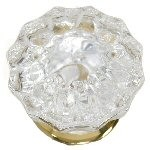 Victorian Crystal Knob by Brass Accents