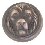 Lion Knob by Brass Accents